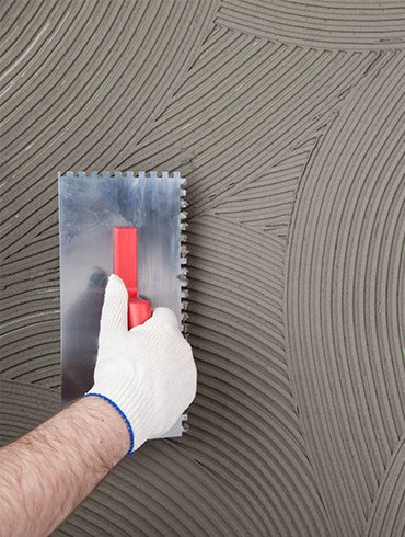 adhesive grouts