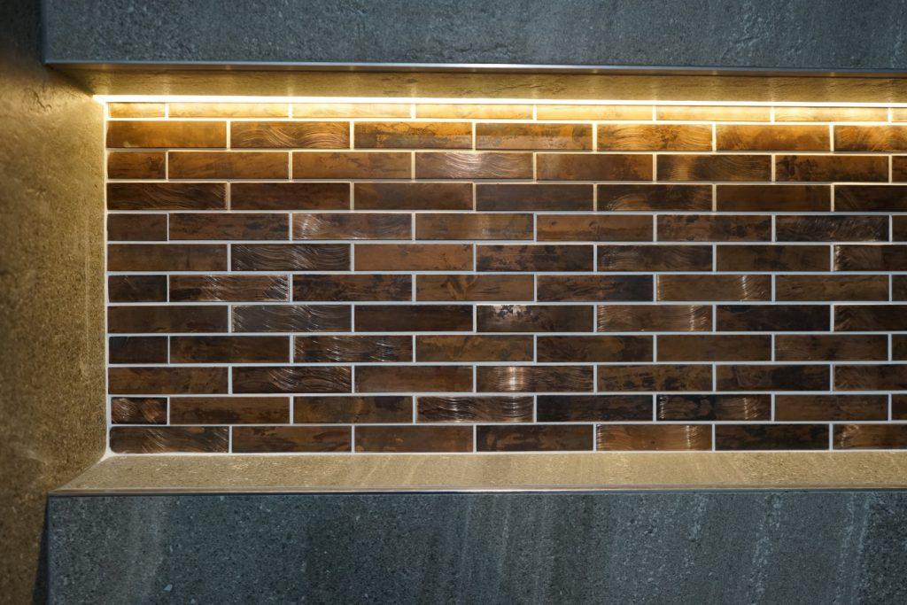 eternal copper mosaic