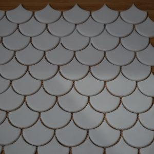 Fishscale White Matt also Available in Gloss