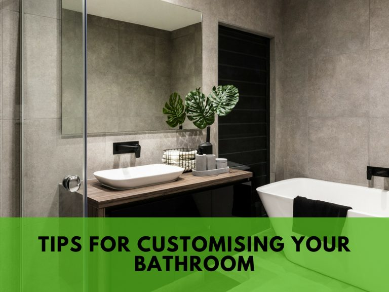 customising your bathroom